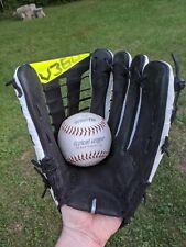 NIKE Vapor V360 Hyperfuse White Black RHT Baseball Softball Glove 12.75 NICE
