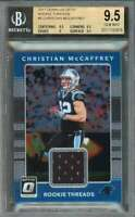 Christian Mccaffrey Rc 2017 Donruss Optic Rc Threads #5 BGS 9.5 (9.5 9.5 9 9.5)