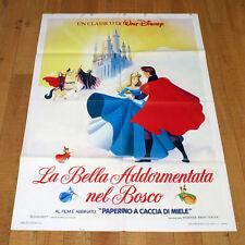 LA BELLA ADDORMENTATA NEL BOSCO manifesto poster Walt Disney Sleeping Beauty G21