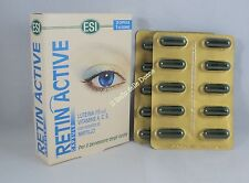 ESI RETIN ACTIVE 20 capsules with blueberry lutein vitamin A C And welfare eyes