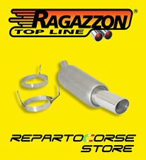RAGAZZON TERMINALE ROTONDO 90mm OPEL CORSA C 1.2 16V 75cv 10/00>08/06 18.0089.60