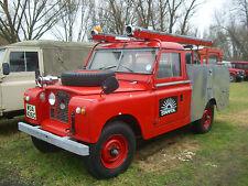 Landrover Serie 2A Feuerwehr 109 RHD
