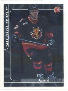 2000-01 Be A Player Signature Series - #18 - Jarome Iginla - Calgary Flames