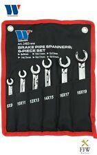 Welzh Werkzeug Brake Pipe Spanner Set 6-Piece 8-19mm 2483-WW
