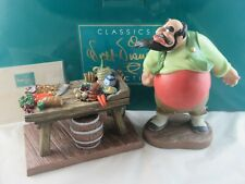 """WDCC """"You Will Make Lots of Money For Me"""" Stromboli from Pinocchio in Box COA"""