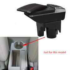 For VW jetta mk5 Golf 6 2005-2011 Rotatable Center Console Armrest Storage Box