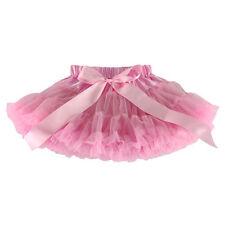Girls Kids Dress Fluffy Tutu Skirt Princess Party Costume Ballet Dress Skirt