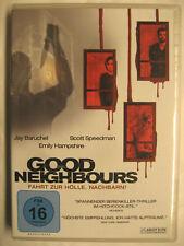 GOOD NEIGHBOURS - DVD - JAY BARUCHEL SCOTT SPEEDMAN EMILY HAMPSHIRE