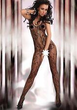 Bodystocking inguine aperto Eden nera Tg S-L Livia Corsetti Sexy shop lingerie