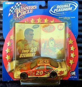 Nascar Winners Circle Tony Stewart Team Collector Card Car 2001 Double Platinum