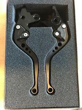 LEXTEK CNC Brake & Clutch Lever Set Stubby Black fit Suzuki GSF1200 Bandit 96-00