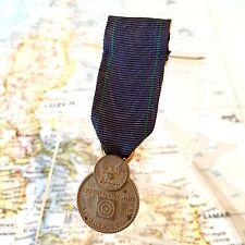 WWII U.S. NAVY EXPERT PISTOL SHOT MINIATURE MEDAL SLOT BROOCH UV NEG. WW2