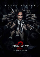 Eason-John Wick Chapter 2 Movie poster-1  23.6x35 in