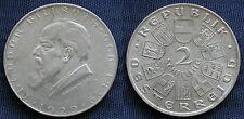 MONETA COIN AUSTRIA REPUBLIK ÖSTERREICH 2 SCHILLING 1929 ARGENTO SILVER SILBER