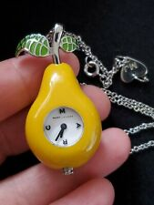 Mark Jacobs Pear Watch Necklace 28 Inches
