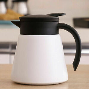 650ml STAINLESS STEEL Insulated Double Wall  Sauce Boat Pot Serving Jug