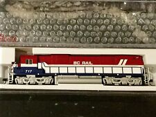ATLAS 1/160 N Scale C-630 British Columbia BC Rail Road # 717 DCC # 40002006 F/S