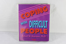 Coping with Difficult People 6-Cassette Study Course ~ Bramson