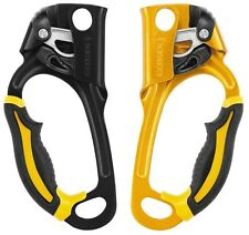 Petzl Ascension PAIR DEAL Handled Jammer Climb Wall Right & Left Rope Grip Grab