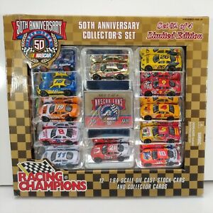 Racing Champions Nascar 50th Anniversary Collectors Set #2 - 1:64 - New in Box