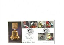 More details for 7/6/2005 rotary club off. f.d.c. with a full set of stamps sig hrh prince philip