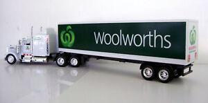 KENWORTH W900 Semi Trailer 1/43 Trucks - Diecast Woolworths Custom Graphics