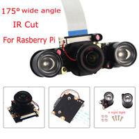 175° Auto IR Cut Camera Module 1080P For Raspberry Pi + 2x IR Night Vision light
