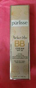 PURLISSE Perfect Glow BB Cream in TAN 1.4oz FULL SIZE SPF 30 SEALED