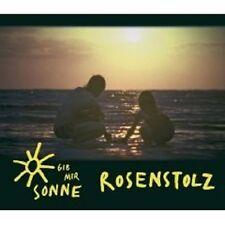"ROSENSTOLZ ""GIB MIR SONNE"" CD SINGLE MIT MAGNET NEU"