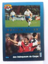 Rare 1996 French Arsenal Panini Card