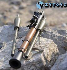 1/6 Rocket Propelled Grenade Antitank Bazooka RPG Weapon Model F 12'' Figure