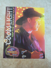 Tracy Lawrence Coors Light Justin 8x10 Country Music Fan Club Photo Picture Page