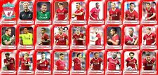 Liverpool FC Football Squad trading cards 2017-18