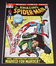 AMAZING SPIDER-MAN #108 VF- (7.5) 20¢ cover Marvel Comic | Marked for Murder!