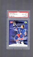 1999 Upper Deck Post Wayne Gretzky #7 PSA 8.5 HOF Pop 2 New York Rangers Retire