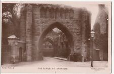 Fife; St Andrews, The Pends RP PPC By Davidson, 1907 Local PMK