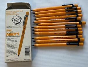 1 Dozen Vintage Pilot Refillable Pencil # 2 , 0.5mm - Unused / New - Open Box
