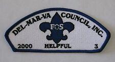 Del-Mar-Va Council (DE) SA10 FOS 2000 CSP  BSA