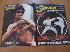 SAMURAI n. 4 (1976) Bruce Lee, Hiroo Mochizuki, Sabina Ciuffini, Il kobudo