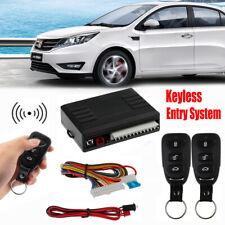 Universal Car Remote Control Central Kit Door Locking Alarm Keyless Entry System