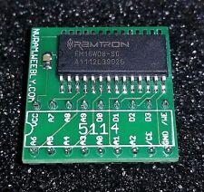 5114 / 5514 / 6514 NVRAM Adapter - Robotron, Joust, Berzerk High Score Save
