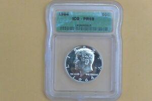 1964 Kennedy Half Dollar ~ ICG PR 69 - SPOTTED