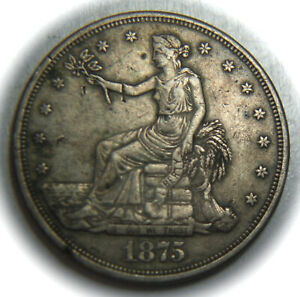 1875-CC Trade Silver Dollar - $1 - NO Reserve!