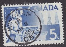 WINDSOR SUB No 17 ONT AU 10/69 SON   CDS CANCEL POSTMARK