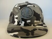 Washington Redskins NFL Reebok Camo Fitted Hat Cap