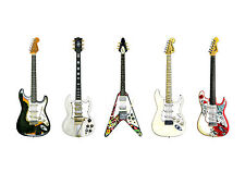 Jimi Hendrix's Guitars POSTER PRINT A1 Size