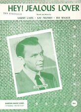 1956 Frank Sinatra Sheet Music - HEY! JEALOUS LOVER - VG Condition