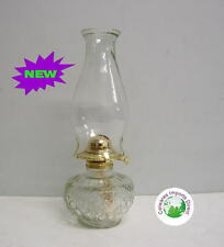 Kerosene Kero Lamp Large Round Base Great for Citronella Oil