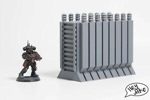 Wargaming Scatter Terrain: Power Transformer for Necromunda, Warhammer 30k, 40K,