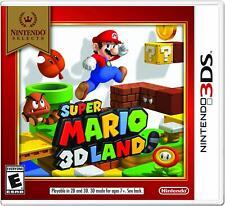 Super Mario 3D Land [Nintendo 3DS Platformer Adventure Luigi Bowser Peach] NEW